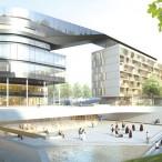 Foto: GEWOFAG/Delugan Meissl Associated Architects mit Helmut Wimmer, Wien mit EGKK Landschaftsarchitektur, Wien