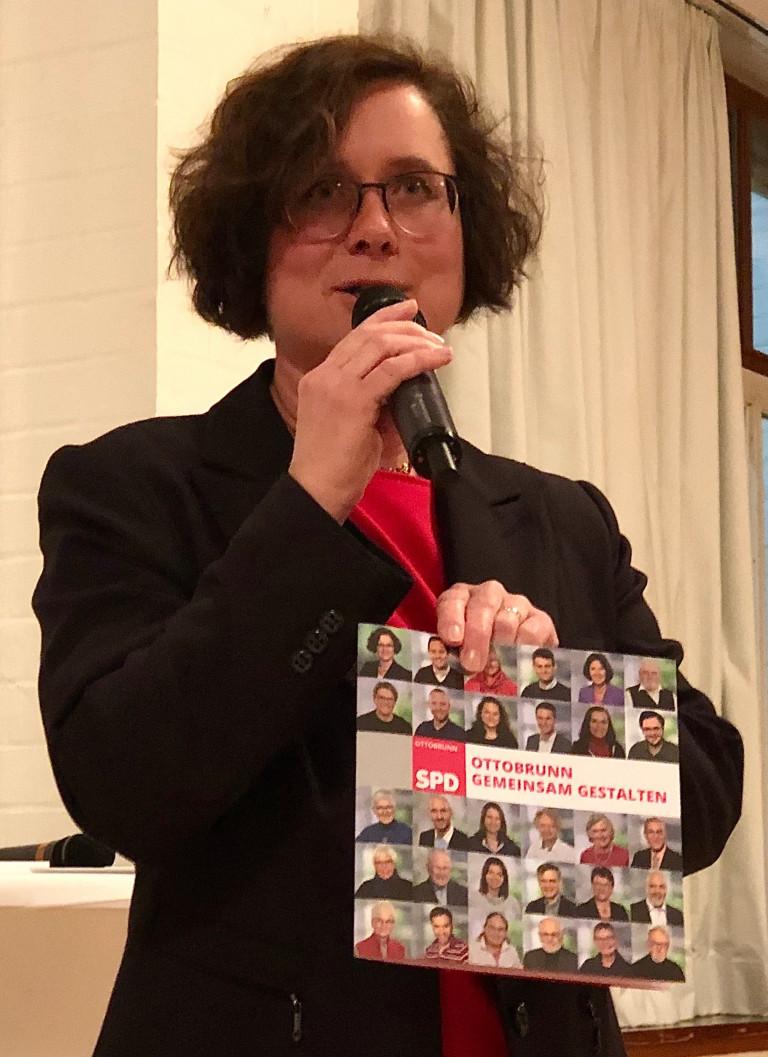Sabine Athen mit Zukunftsprogramm