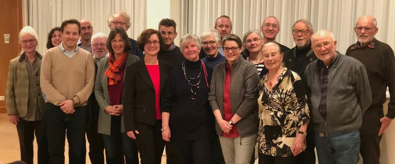 Gruppenbild der SPD-Gemeinderatskandidaten